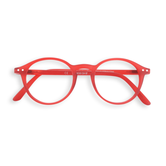 #D RED Reading Glasses