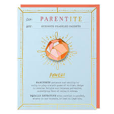 Parentite Gem Card & Pin