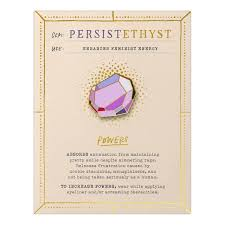 Persistethyst Gem Card & Pin
