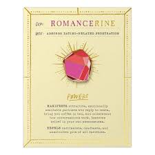 Romancerine Gem Card & Pin