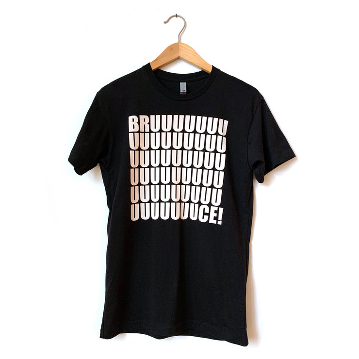 Bruuuce Black T-Shirt