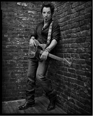 Bruce Springsteen, NYC, 2005 Postcard