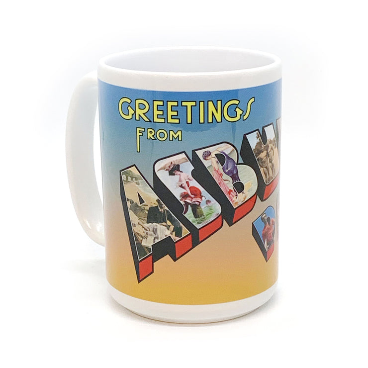 Vintage Greetings From Asbury Park Mug
