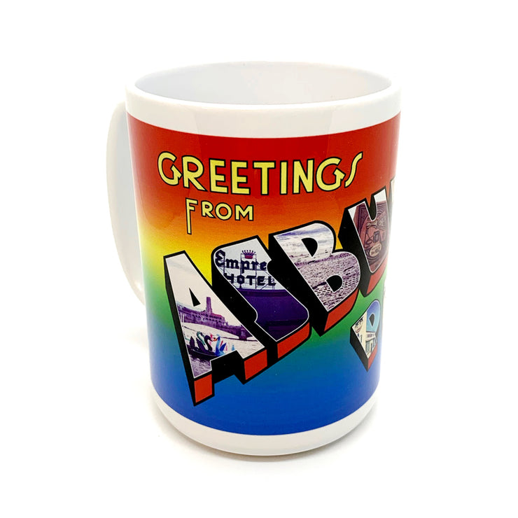 Greetings from Asbury Park Mug