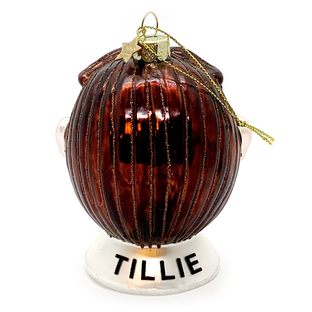 Tillie Glass Ornament