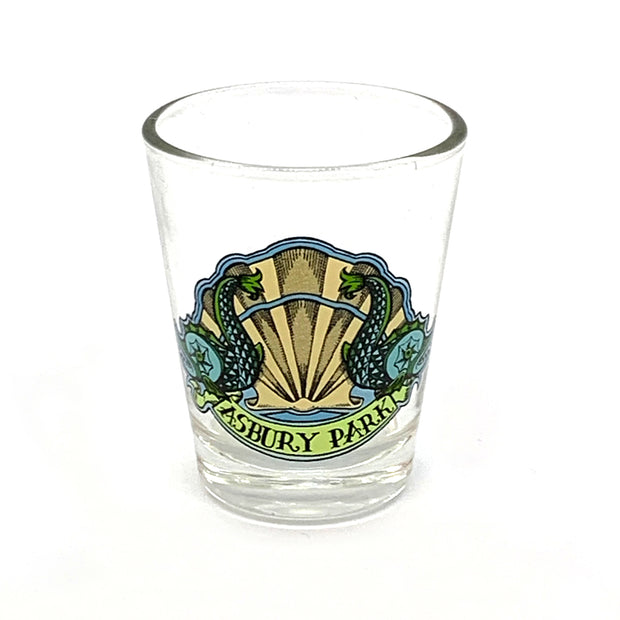 Two Fish Shot Glass
