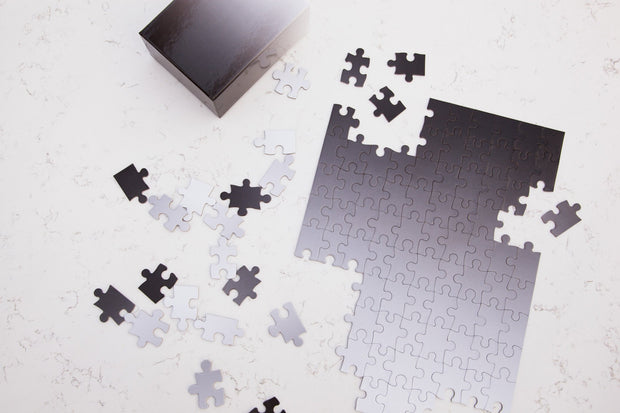 Black/White Gradient Puzzle, Small