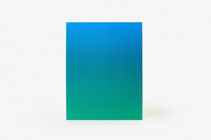 Blue/Green Gradient Puzzle, Original
