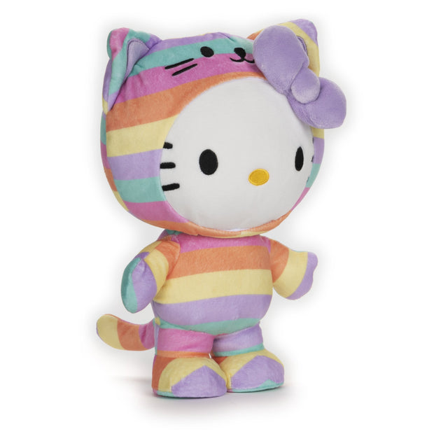 Rainbow Hello Kitty Plush
