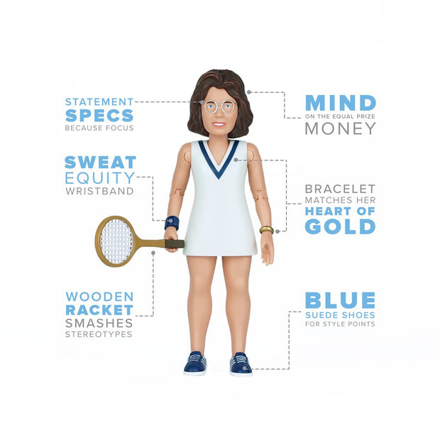 Billie Jean King Action Figure