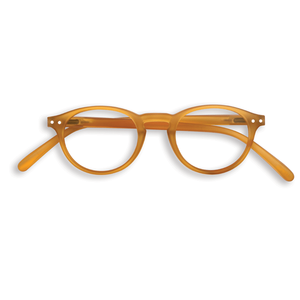 #A YELLOW OCHER  Reading Glasses