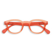 #C WARM ORANGE Screen Glasses, +0