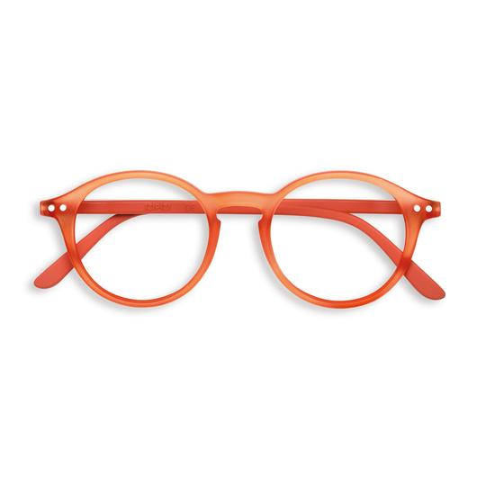 #D WARM ORANGE Reading Glasses