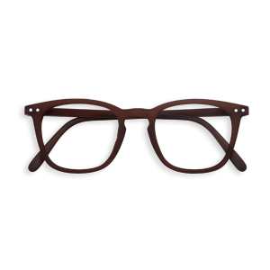 #E DARK WOOD Reading Glasses