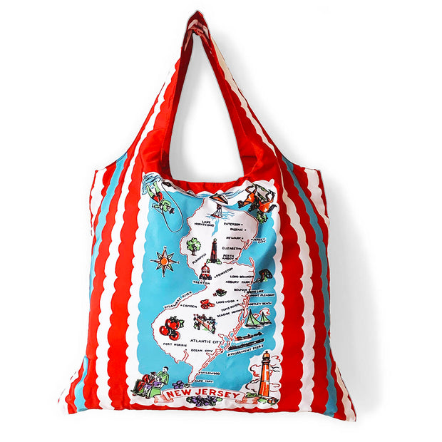 New Jersey (Retro) Tote & Pouch