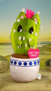 Catcus Plush: Can't Touch Hiss
