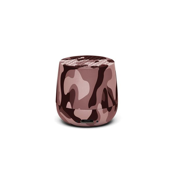 Pairable MINO BT Speaker, Pink Camo
