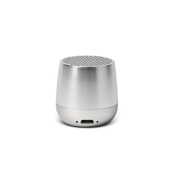 MINO BT Speaker, Polished Aluminum