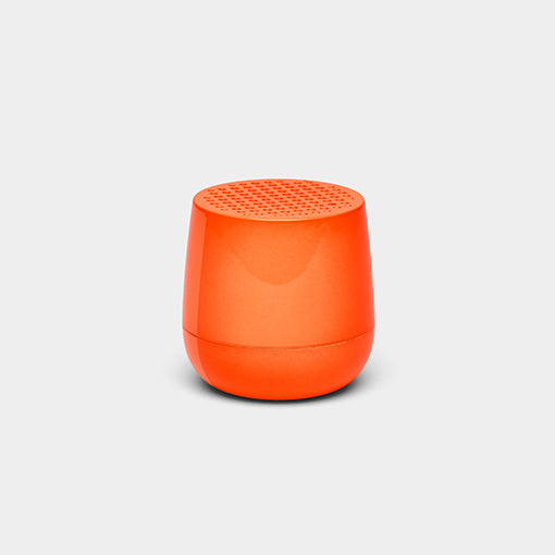 Pairable MINO BT Speaker, Glossy Neon Orange