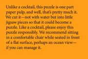 Cocktail Puzzle, Series 3: Party