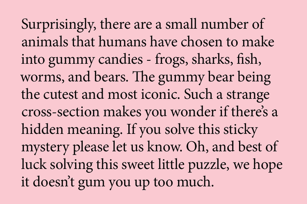 Gummy Bear Puzzle, Series 2: Munchies