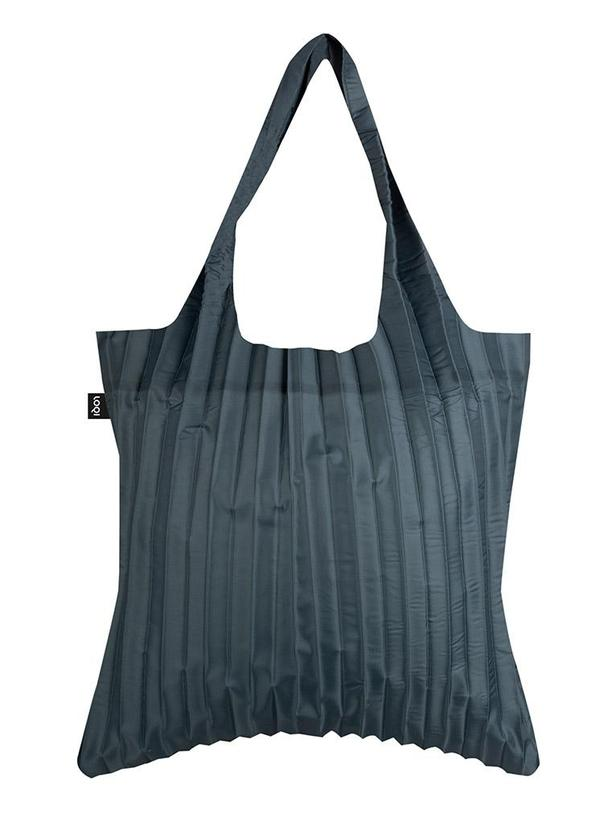 PLEATED Charcoal Bag