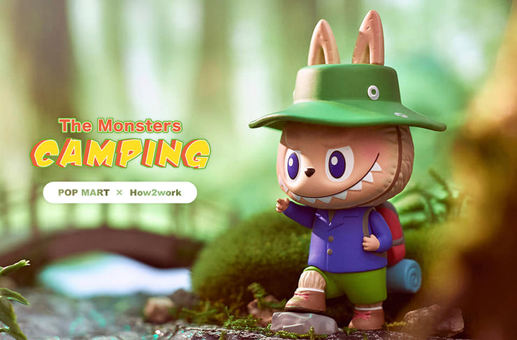 The Monsters Camping Blind Box