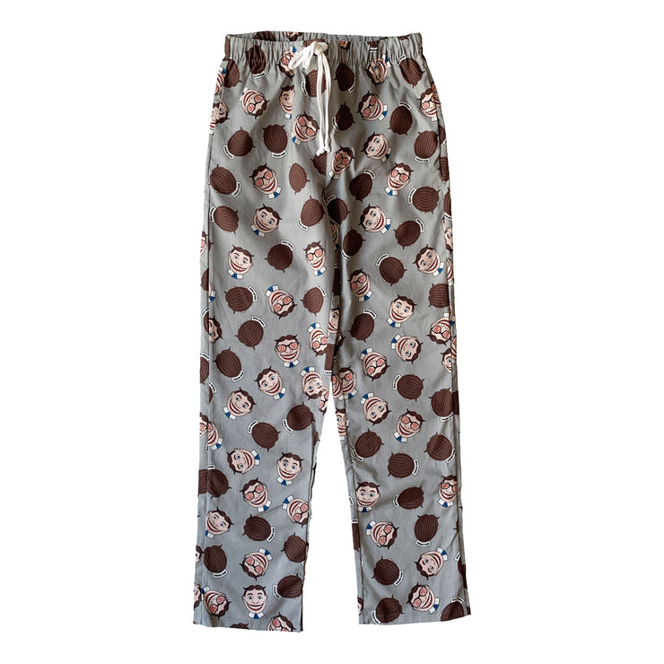 Tillie Grey Pajama Pants, Long