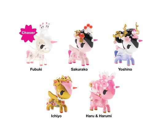 Cherry Blossom Unicorno Series Blind Box