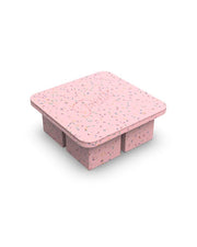 Extra Large Ice Cube Tray Speckled Pink