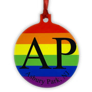 AP Pride Disk Ornament