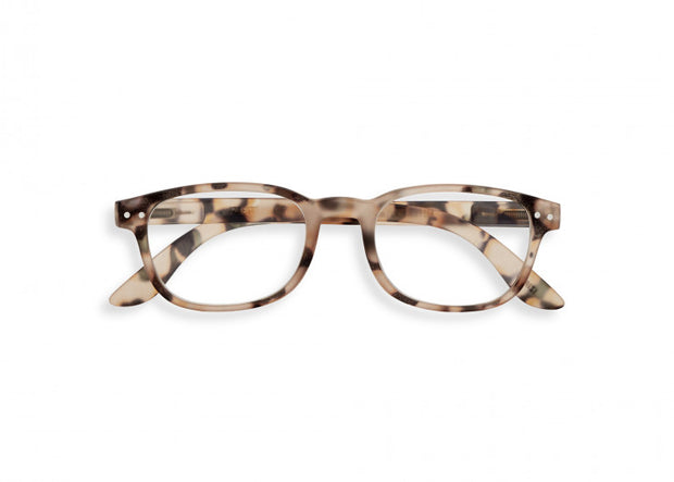 #B LIGHT TORTOISE Reading Glasses