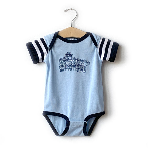 Carousel Blue Sailor Onesie