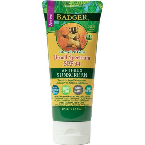 SPF 34 Anti-Bug Sunscreen, 2.9oz