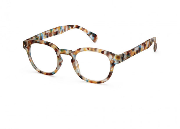 #C BLUE TORTOISE Reading Glasses