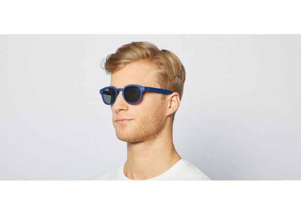 #C NAVY BLUE Sunglasses