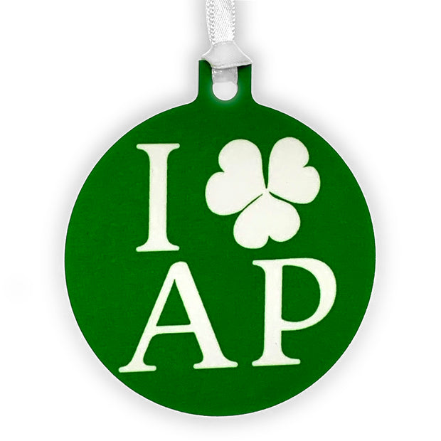 I Shamrock AP Ornament