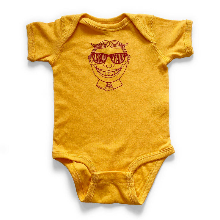 Tillie Gold Onesie