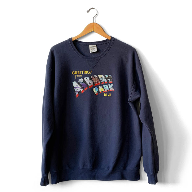 Greetings... (Color) Crew Sweatshirt