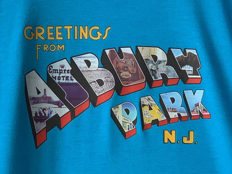 Greetings... (Color) Turquoise Tee, Youth