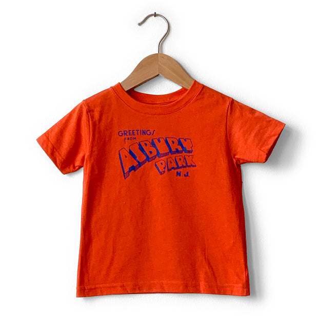Greetings... Vintage Orange T-shirt (Toddler)