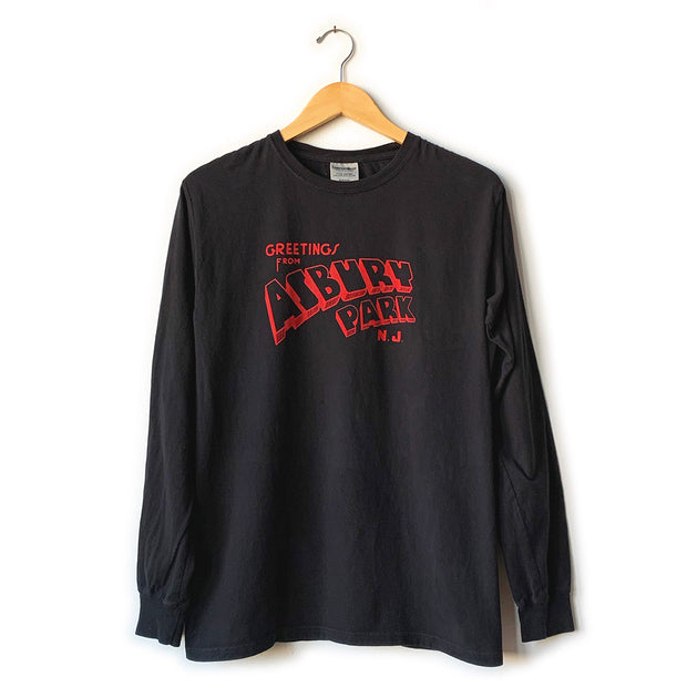Greetings... Black Heather LS T-Shirt