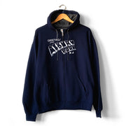 Greetings... J. Navy Zip Sweatshirt