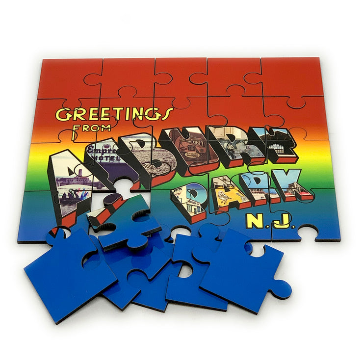 Greetings... Hardboard Puzzle