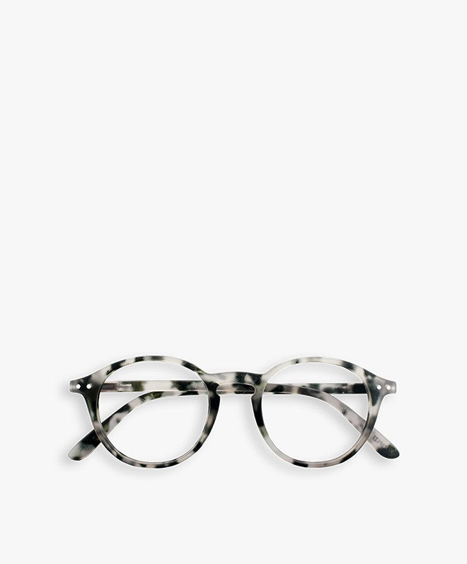#D GREY MARBLE Reading Glasses, +1.5