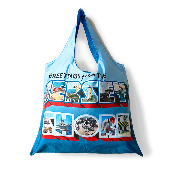 Greetings... Jersey Shore Tote & Pouch