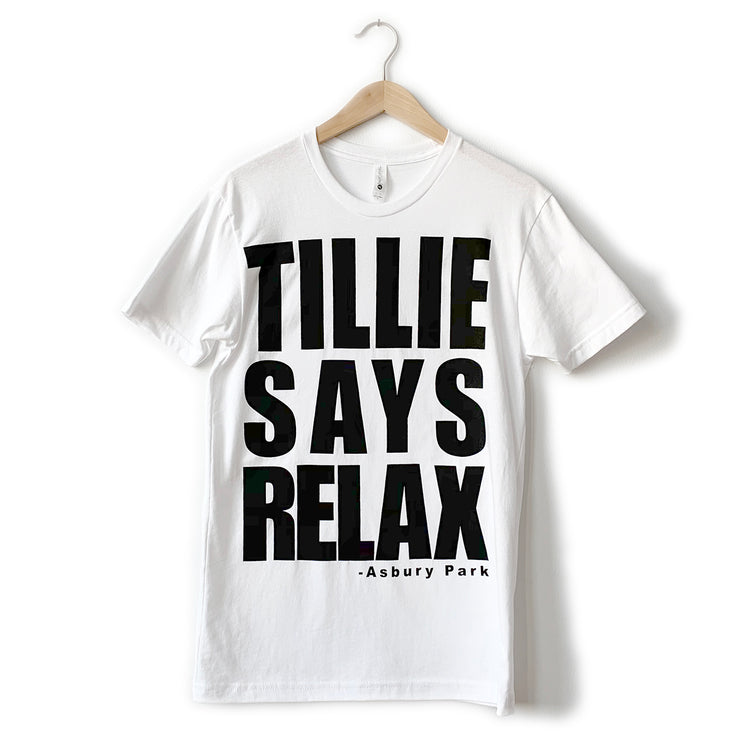 Tillie Says Relax T-Shirt