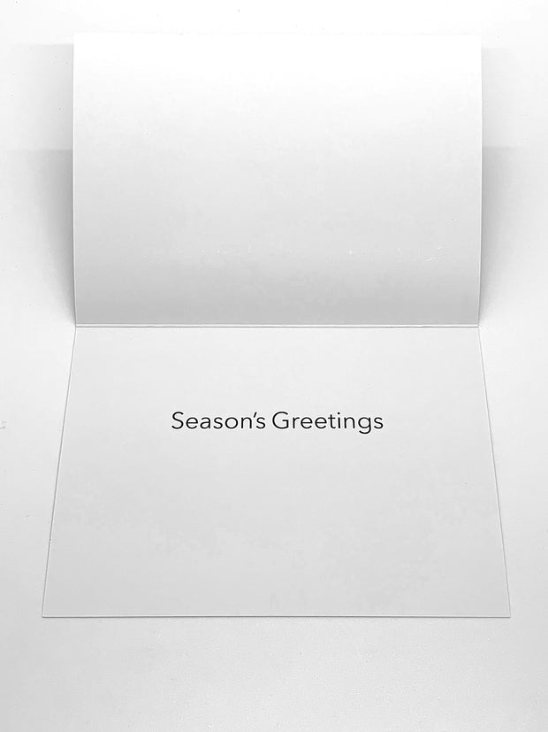 """Greetings..., 2016"" Set of 8 Cards, Tim Horn"