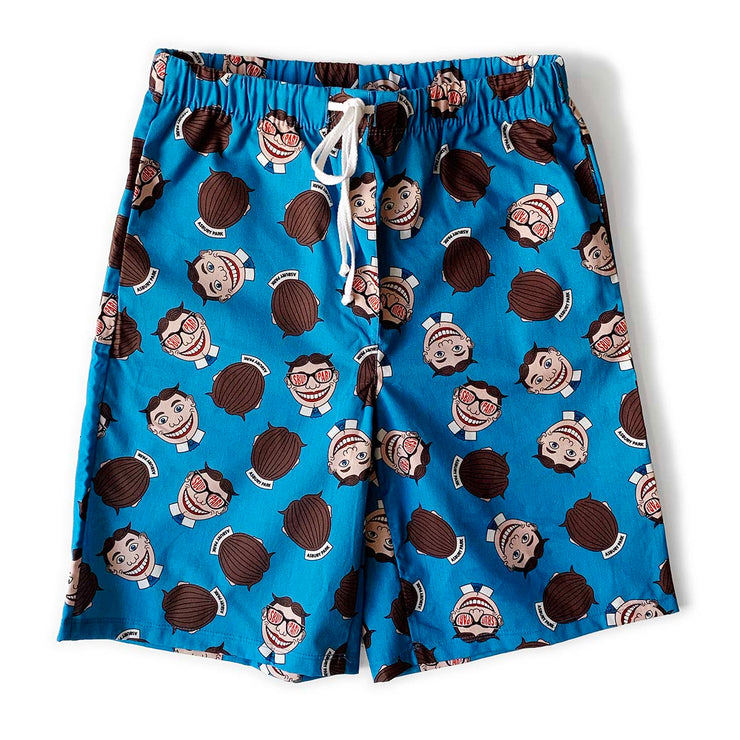 Tillie Blue Pajama Shorts