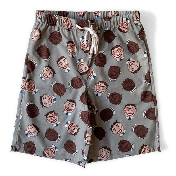 Tillie Grey Pajama Shorts